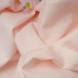 Tissu au mètre coton flanelle rose bonbon en 145cm n°727