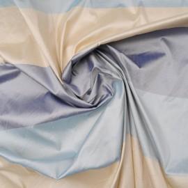 Tissu au mètre Toile Polyester satinée à rayures en 140cm n°729