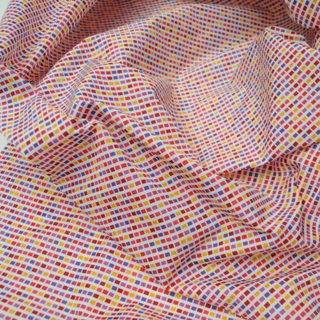 Coupon viscose et coton Haut de gamme 1m35 en 155cm n°735