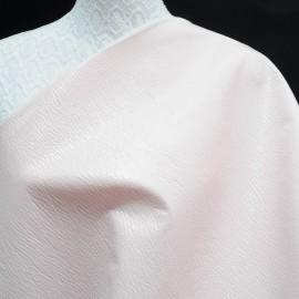 Toile au mètre vinyle rose pâle Haute Couture 145cm n°767