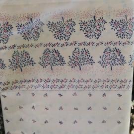 Drap 1 pers 180 x 290 cm Polyester et coton