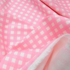 coupon Coton elasthanne rose pastel n°791