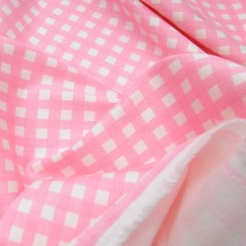 coupon Coton elasthanne rose pastel n°791