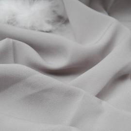 coupon crêpe de polyester gris n°781