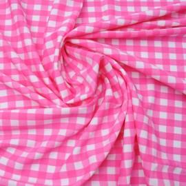 coupon Jersey lycra rose foncé n°790