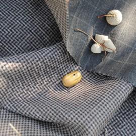 Coupon Polyester et laine reversible 90 cm en 150cm n°799