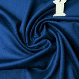 Coupon Velours ras bleu saphir 1m en 152cm n°797
