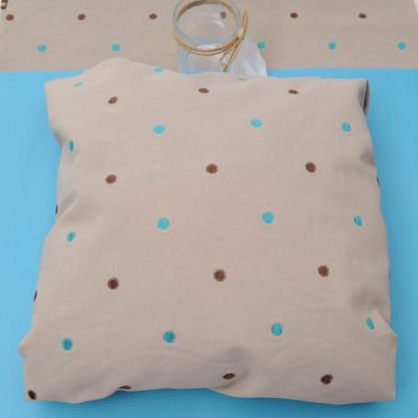 Toile ameublement polyester, coupon de 50x 50cm n°827