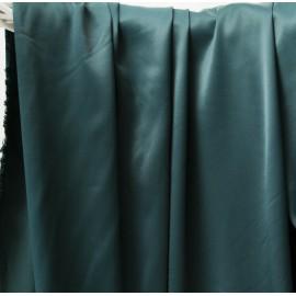 Tissu satin viscose vert sapin n°353 en 124cm