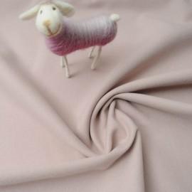 Tissu Caban rose nude au mètre en 150cm n°851