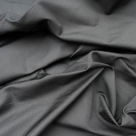 Taffetas de polyester gris en 150cm n°871