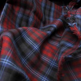 Coupon coton écossais 1m55 en 150cm n°870