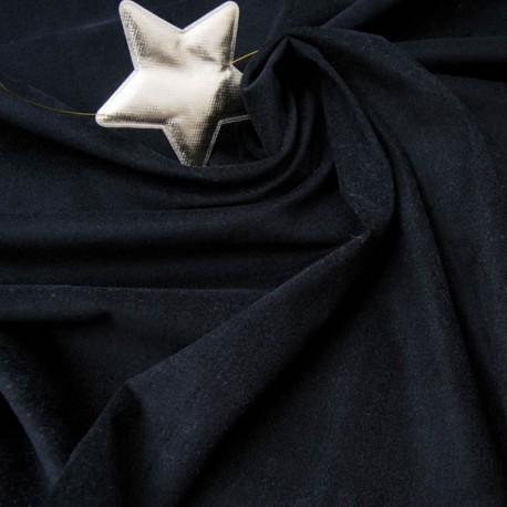Velours noir ras en 150cm au mètre n°892