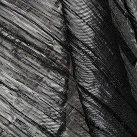 Voile Coton et Lurex gris argenté en 130cm n°227