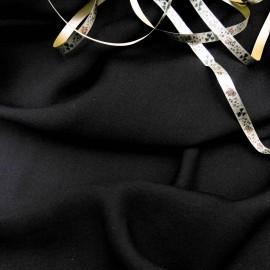 Viscose Coton Soie noir n°425 en 150cm