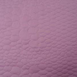 au mètre polyester gaufré parme en 150cm n°909