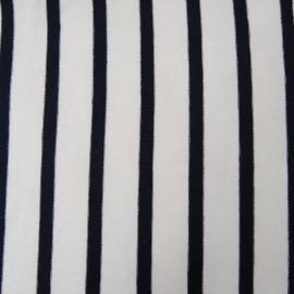 Au mètre fin jersey de coton marin en 105cm n°920