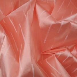 Au mètre Jacquard Soie rose Haute Couture en 155cm n°932