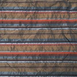 Au mètre taffetas polyester marron Haute Couture en 150cm n°942