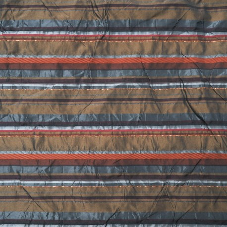 Au mètre taffetas polyester métal Haute Couture en 150cm n°942