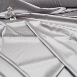 Satin Spandex Gris perle en 150cm n°512