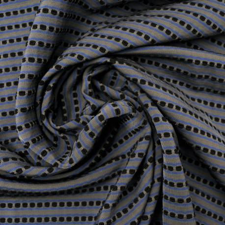 au mètre Fin jersey Lycra polyester fantaisie en 140cm 984