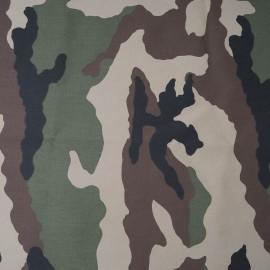 Au mètre Toile polyester camouflage en 150cm 983