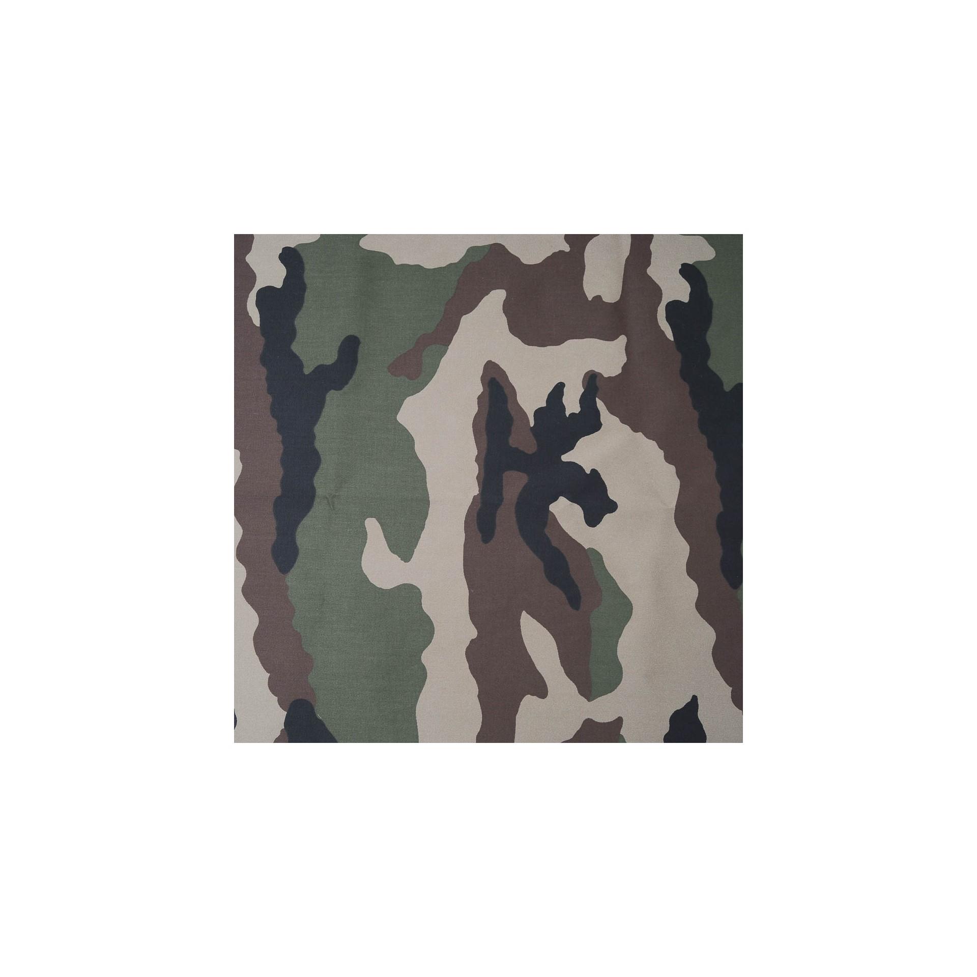 au m tre toile polyester camouflage en 150cm 983 defilentissus. Black Bedroom Furniture Sets. Home Design Ideas