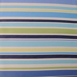 Coupon BAYADERE bleu vert Toile Polyester 1m20 en 150cm