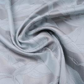 Coupon Polycoton gris et bleu layette n°1017 1m50 en 145cm