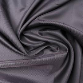 Au mètre doublure polyester violet rosé strié en 150cm