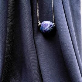 Au mètre jersey bleu marine Lacoste en 180cm n°10125
