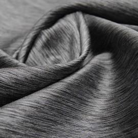 Tissu Toile gris argentée brillant n°205 en 150cm