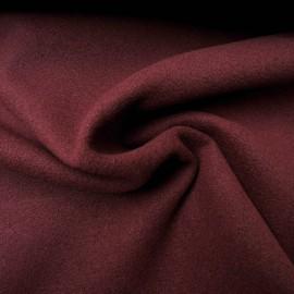 Tissu Caban bordeaux au mètre en 150cm n°10206