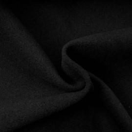 Tissu Caban noir au mètre en 150cm n°10210