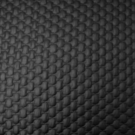 Au mètre doublure matelassée noire polyamide en 145cm n°10197