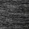 Au mètre Polyester & Laine natté noir et gris en 160cm n°10202