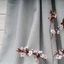 Au mètre Viscose gris clair lurex argent Haute Couture en 155cm n°10297