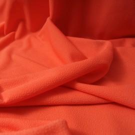 Au mètre Maille corail polyester crépon texturé en 150cm n° 10353
