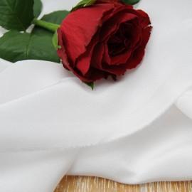 Au mètre Soie blanche Haute Couture en 140 cm n°10357