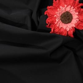 Au mètre Coton bachette noir n°230 en 150cm