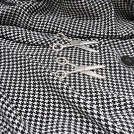 Coupon superbe viscose légère et fluide Haute Couture 1m50 en 135cm n°10422