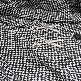 Coupon superbe viscose légère et fluide Haute Couture 95cm en 135cm n°10422