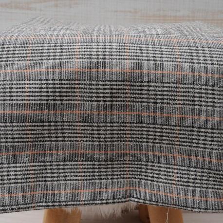 Tissu au mètre crêpe polyester et Coton en 140cm n°10470