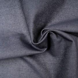 Toile jean Coton bleu denim authentique en 155cm n°10509