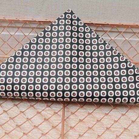 Mini Coupon Coton enduit PAKLA double enduction 50cm x 78 cm