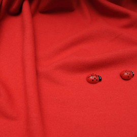 Au mètre Jersey rouge Sonia RYKIEL en 160cm n°10530