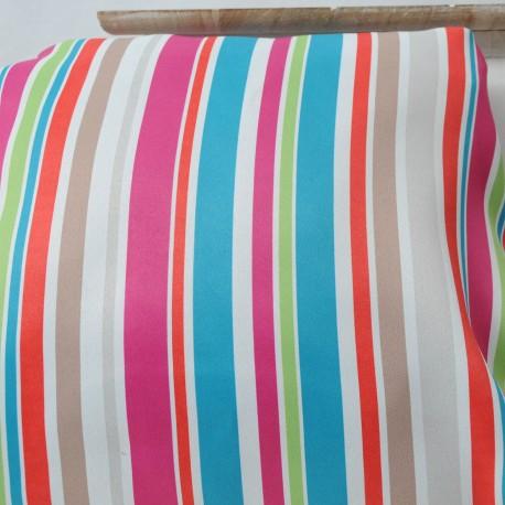 BAYADERE Rose Toile Polyester 1m40 en 145cm