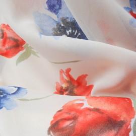 Tissu au mètre voile Polyester et coton en 150cm n°731