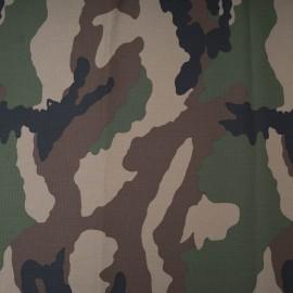 Toile 100% coton camouflage au mètre en 150cm n°10468